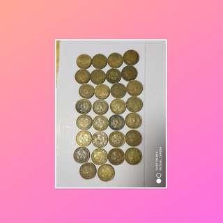 1965年5仙港幣 6元 一隻全部150元,最少买5只才交易