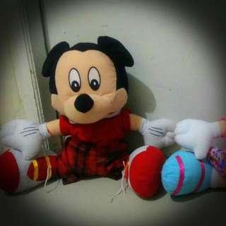 Boneka Mickey Mouse Lucu