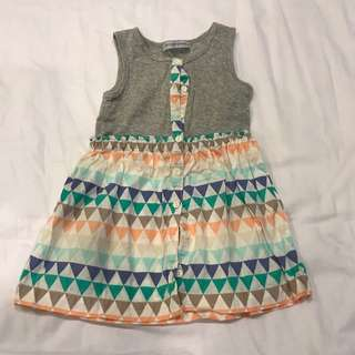Gingersnaps Dress 4 yo