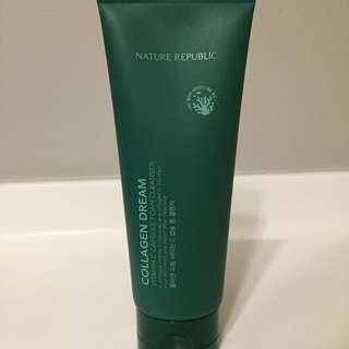 <BNIB> Nature Republic Collagen Dream foam cleanser