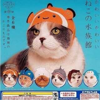 貓咪頭套頭帶