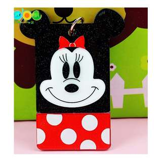 Minnie Mouse/ Acrylic Card Holder/Suitable for EZ-Link Card, student card