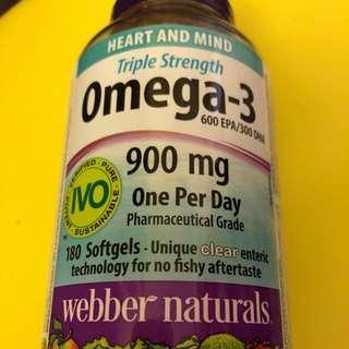 奧米加3魚油丸(加拿大)