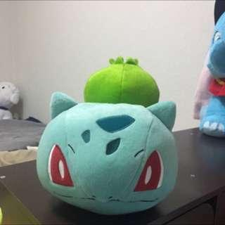 日本夾娃娃 妙蛙種子 寶可夢 神奇寶貝