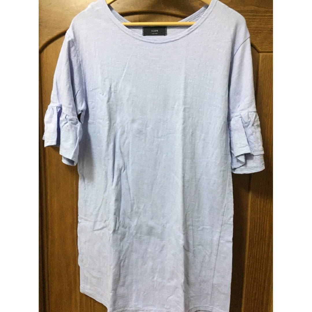 2手 ASOBI 正韓 T恤 粉紫 200元 F尺寸 大尺碼 賣場衣褲任選兩件以上免運