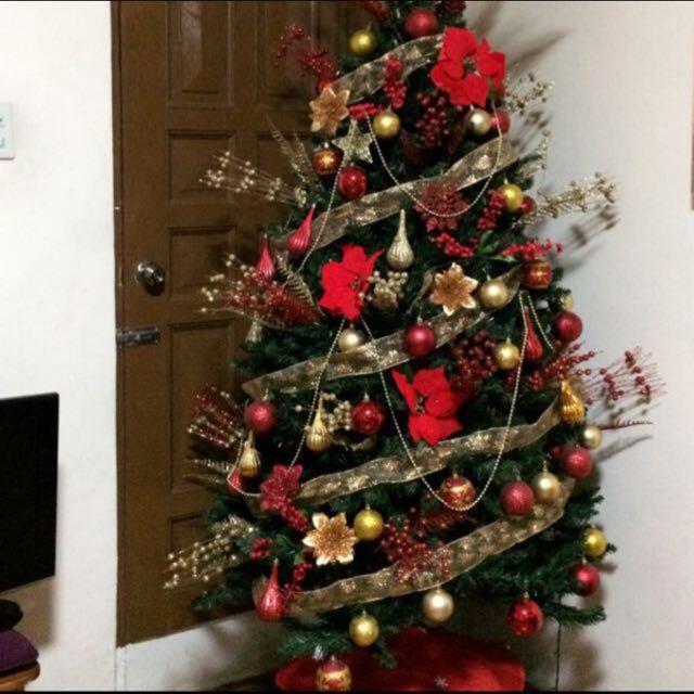 6 feet Xmas Tree all in