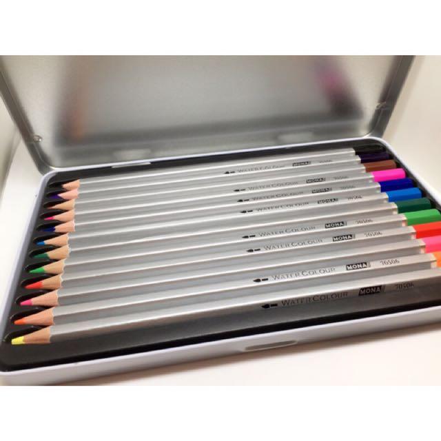 水溶性色鉛筆
