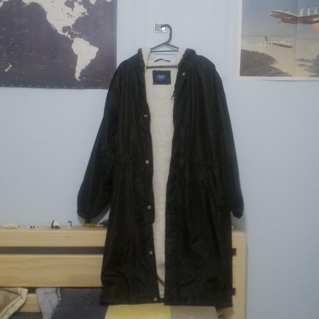 古著鋪棉大衣外套
