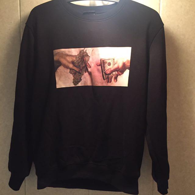 大麻交易 黑 厚衛衣
