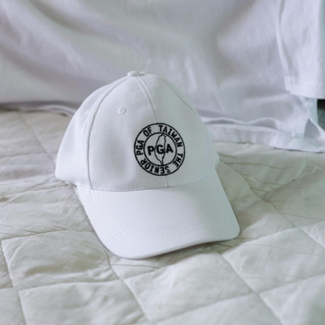 新品 / 純白 帽子 PGA