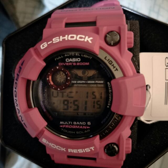 粉紅蛙 G Shock