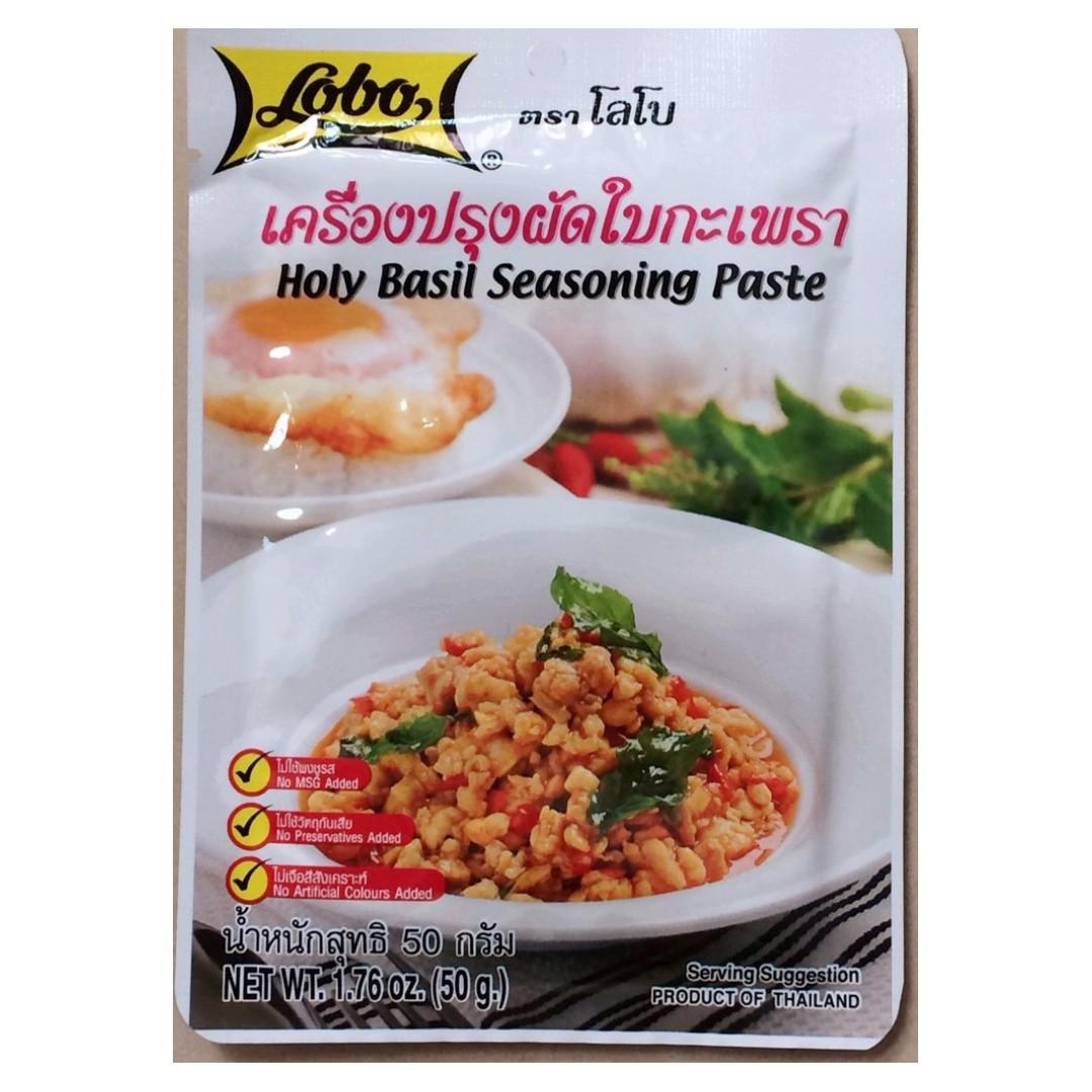 泰國 LOBO 打拋醬 料理包 50g 泰國名產