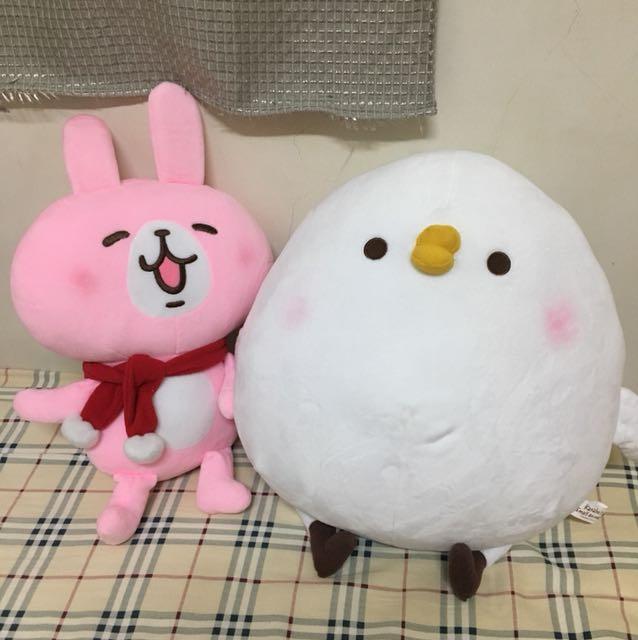 卡娜赫拉 P助 兔兔 玩偶 單售100 合買180