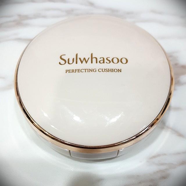 <免運> 雪花秀 Sulwhasoo perfecting cusion 氣墊粉餅 #幫你省運費 #好物任你換