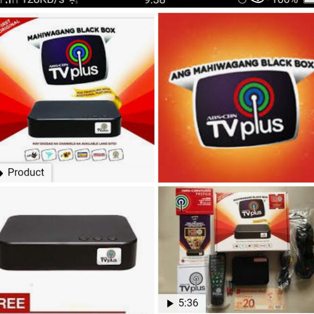 Sale Brand New Abs Cbn Tv Plus At Php1200 Electronics Tvs