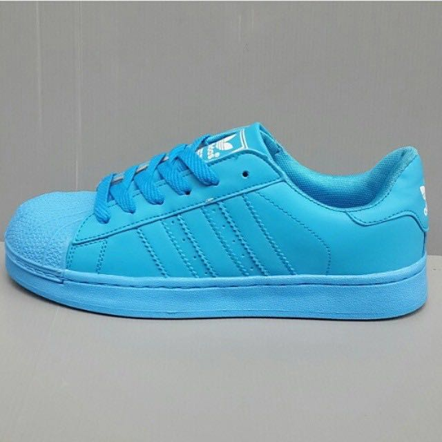 Adidas superstar biru (37), Women's Fashion, Women's Shoes