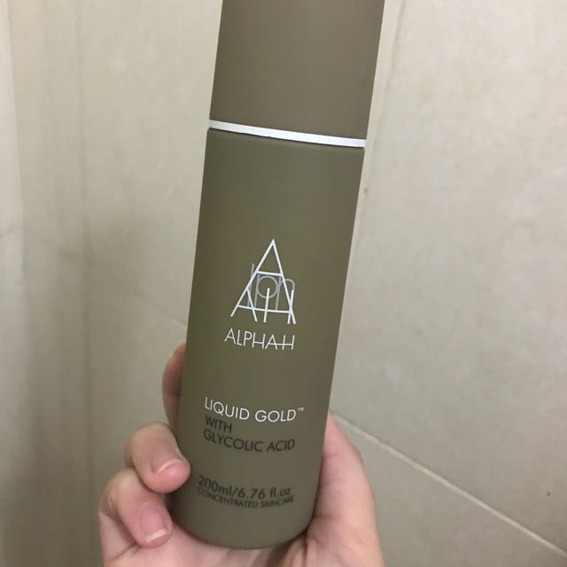 Alpha-H Liquid Gold Toner 200 mL - 50% FULL