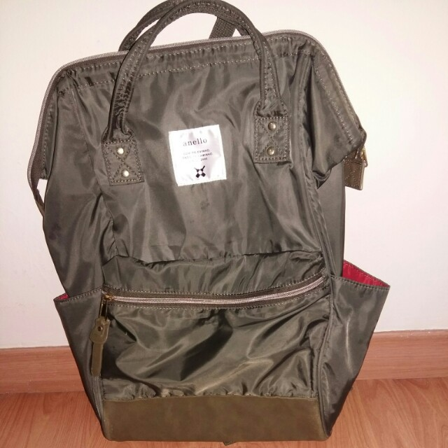 Anello backpack nylon authentic hand carry from Japan