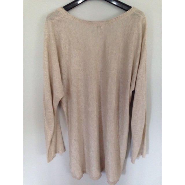 Aritzia Babaton Linen Shirt - Size Small