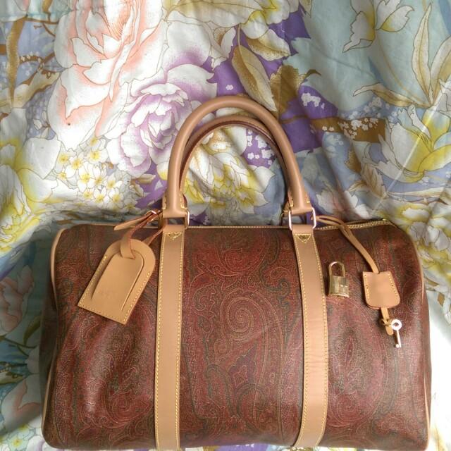 b683515ae54c Authentic Etro Milano Sdy 40 Boston Bags Women S Fashion