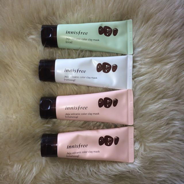 Authentic Innisfree Jeju Volcanic Color Clay Mask