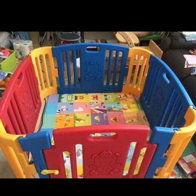 Baby Barricade And Gate On Carousell