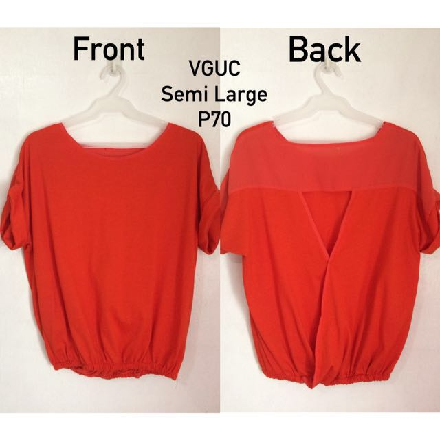 Back Detail Blouse