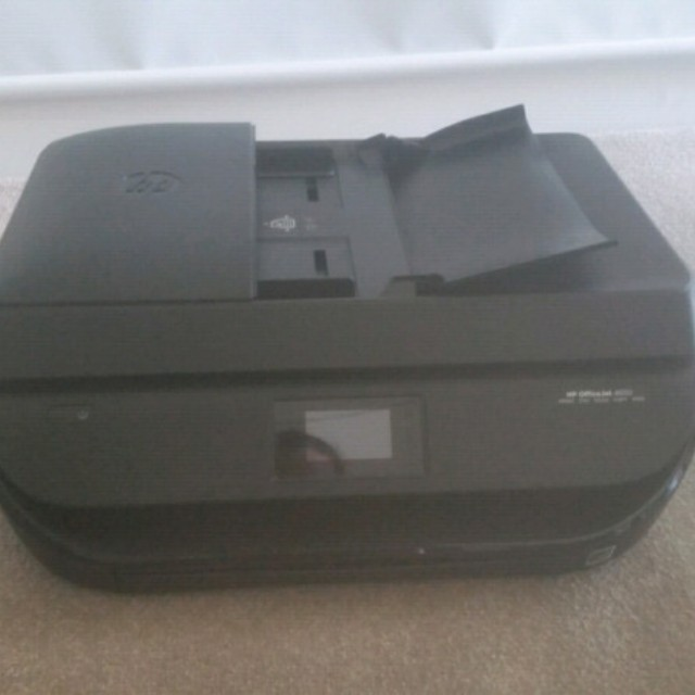 Black HP OfficeJet 4650 All-in-One Printer, Electronics