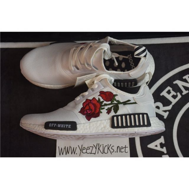 Off white rose adidas NMD!!!!, Women's Fashion, Shoes on