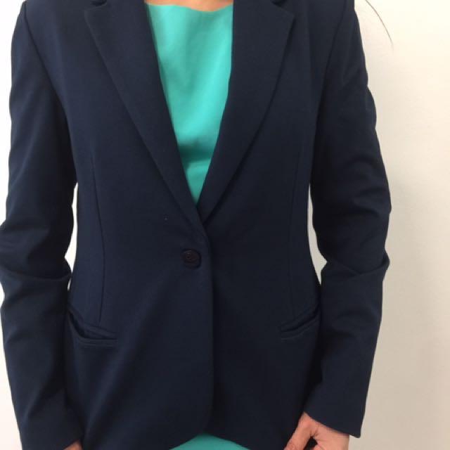 BNWOT:Blue Blazer Size 10