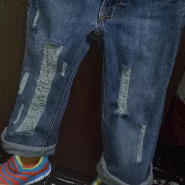 Branded Tattered jeans / ripped jeans for kids