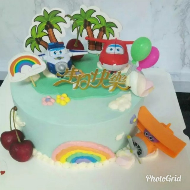 Cake Topper The Airport Diary Figurines Toys Games Bricks