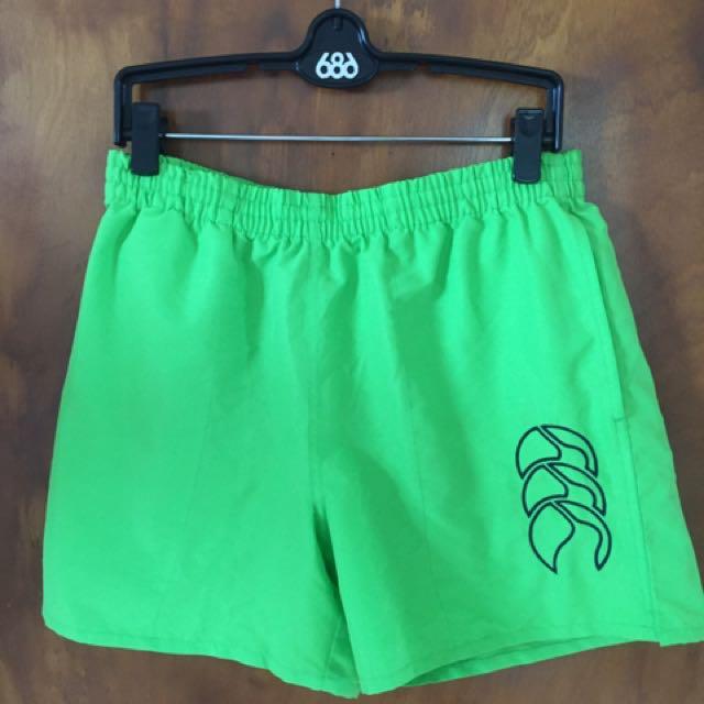 Canterbury sports shorts