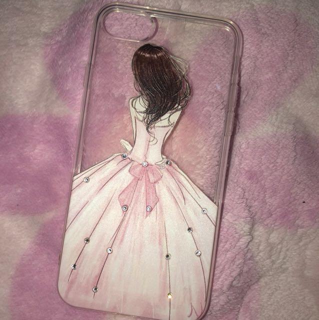 Case Iphone 7 ( blm pernah di pake)