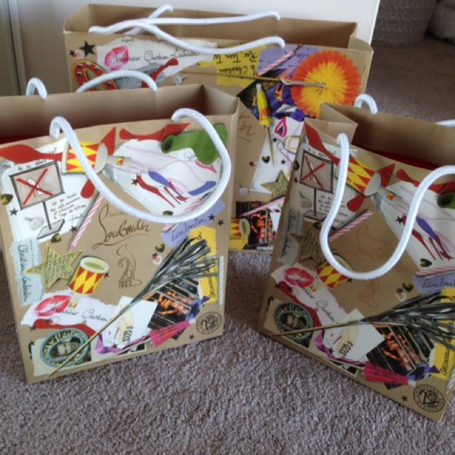 Christian Louboutin shoe carrier bags