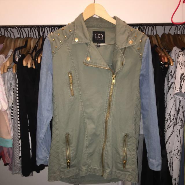 CO By Cotton On Khaki/Denim Jacket