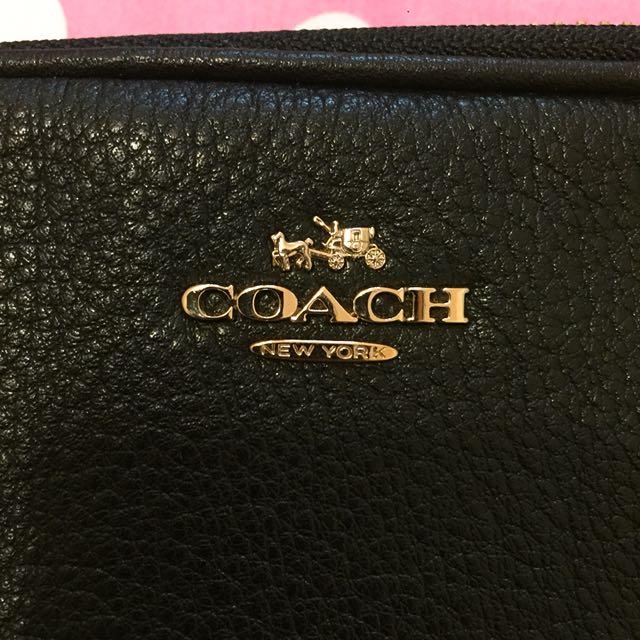 COACH 雙層 側背包 附紙盒紙袋(僅背過一次 割愛)