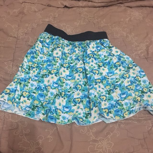 Cotton On Floral Flare Skirt 1
