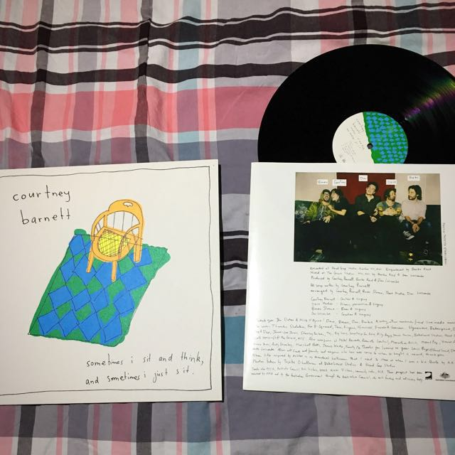 "Courtney Barnett ""Sometimes I Sit and Think, and Sometimes I Just Sit"" Vinyl Record"
