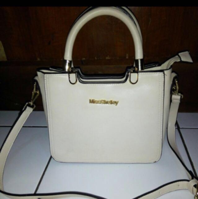 Cream Bag / Tas Import