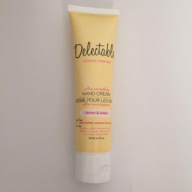 Delectable Hand Cream