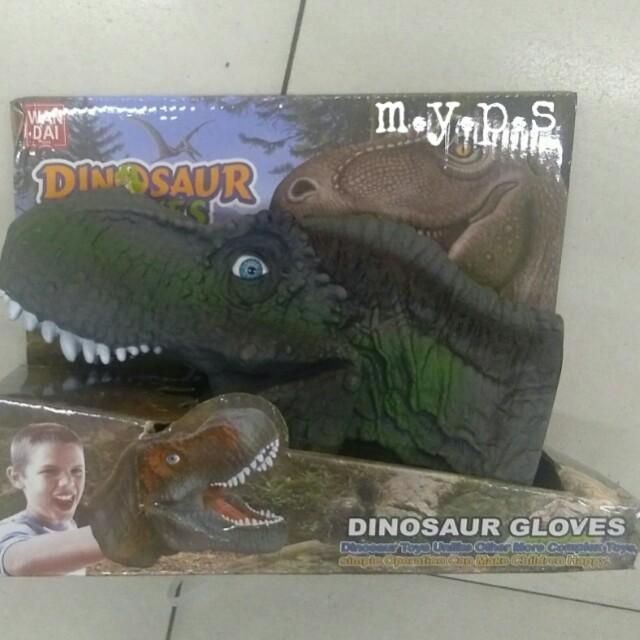 Dinosaur Gloves