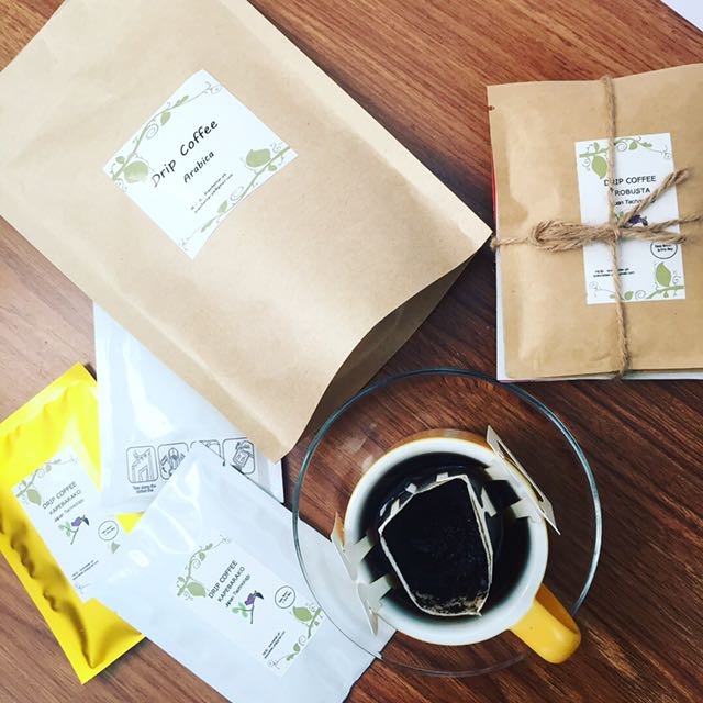 Drip Coffee in Kraft Pouch x 10 drip coffee