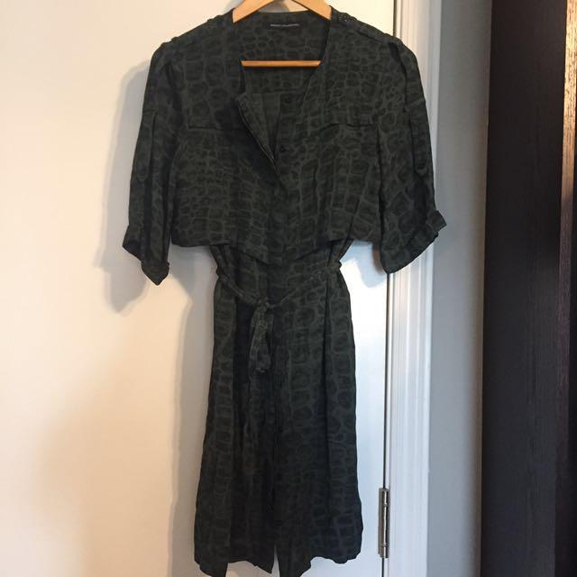 FCUK shirt dress