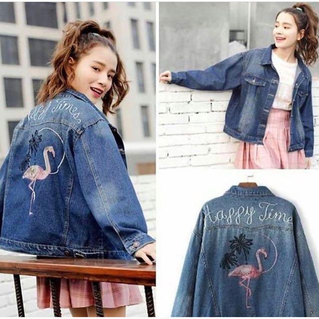 Flamiggo oversize jacket
