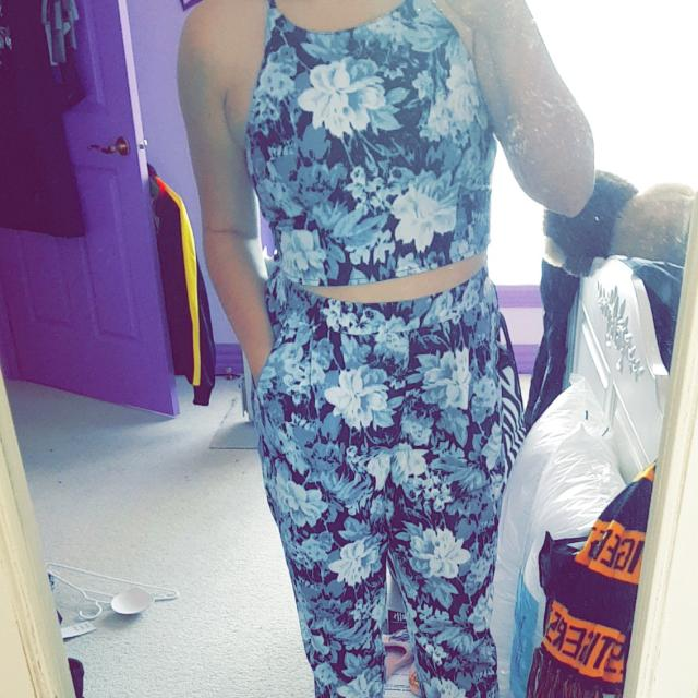 Price Drop Floral Two Piece
