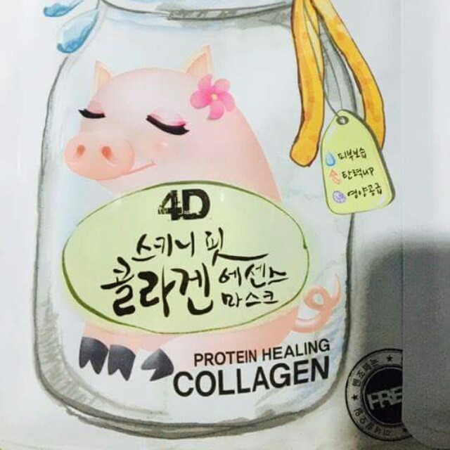 FOODAHOLIC 4D MASK (COLLAGEN)