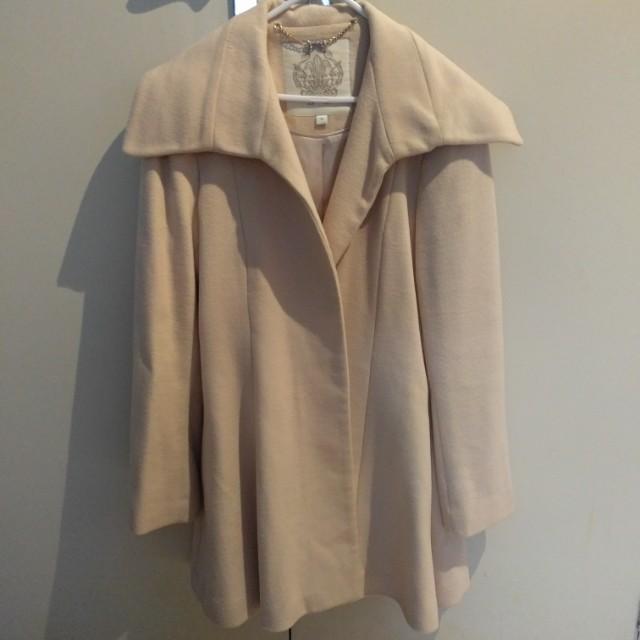 Forver New swing wool coat size 14