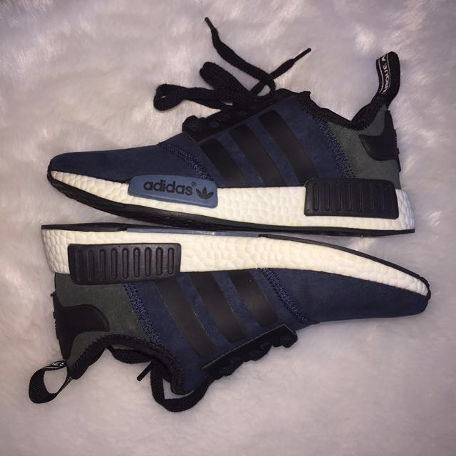 bc4abfa0b7cb7 FREE DELIVERY✨Adidas NMD Blue Suede