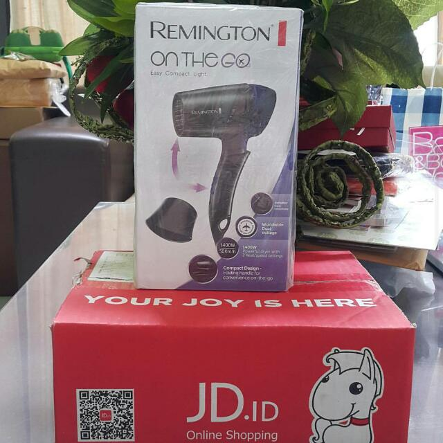 Hairdyer REMINGTON Travel 1400 D2400